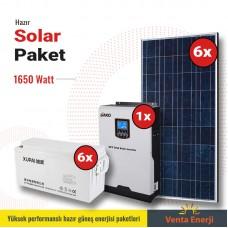 Hazır Solar Paket 1650w