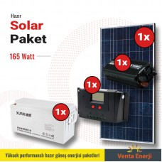 Hazır Solar Paket 165w