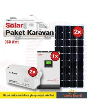 Hazır Solar Paket 360w A- Karavan için
