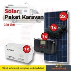 Hazır Solar Paket 360w C- Karavan için