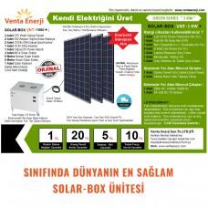 1KW Plus 12v Hazır Solar Paket